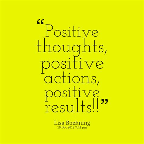 positive thoughts images positive thoughts positive actions positive results
