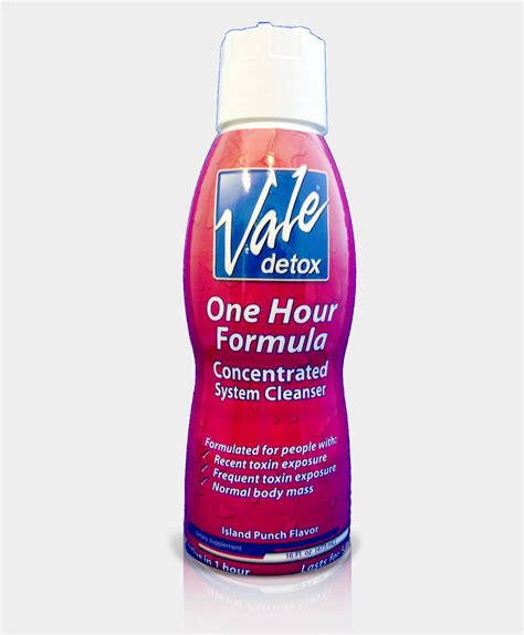 One Hour Solution Detox Available by Vale S Original One Hour Formula Citrus Flavor