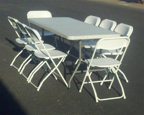 table chair rental table and chair rentals