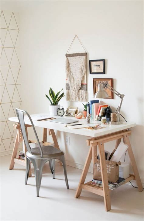 how to a trestle desk 28 gorgeous trestle tables and desks for your home digsdigs