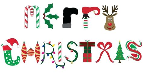 merry clipart words merry word design naptimeisfordrinking