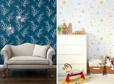 removeable wall paper daily delight temporary movable wallpaper hgtv design blog design happens