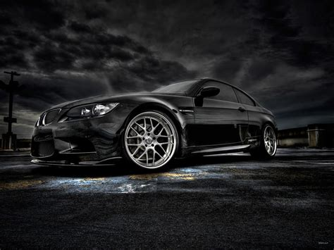 Vista wallpaper, black wall bmw 3 series