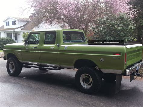 1974 ford crew cab for sale 1974 ford crewcab
