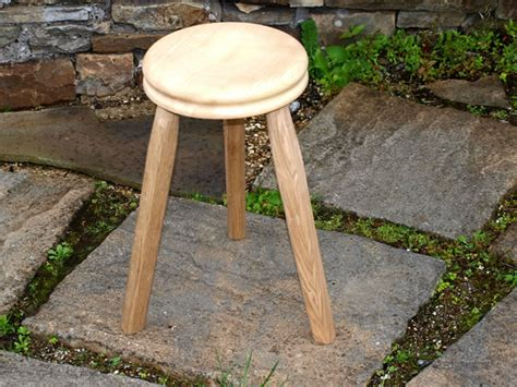 3 Legged Cing Stool by Gayle Mill