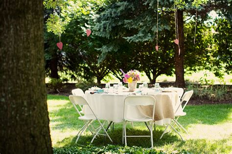 backyard bridal shower ideas marceladick