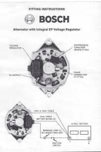 alternator wiring diagram internal regulator wiring diagram