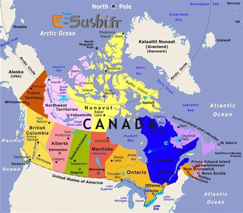 map of canada showing major cities carte canada images et photos arts et voyages