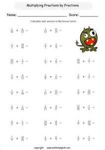 multiply fractions by fractions and give your answer in