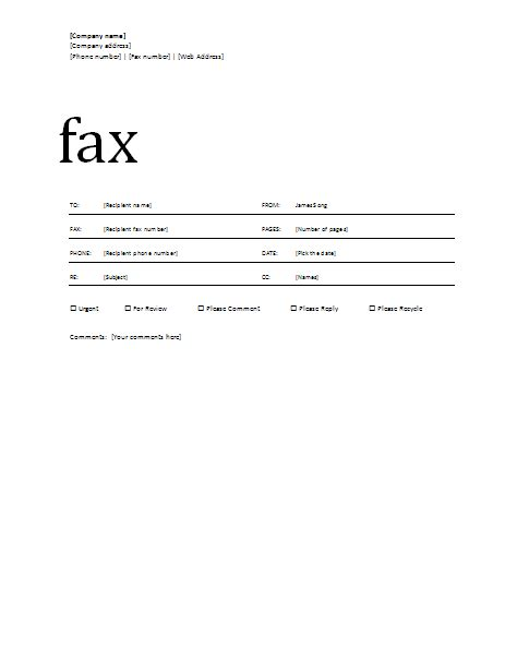 standard cover letter for fax covering letter exle