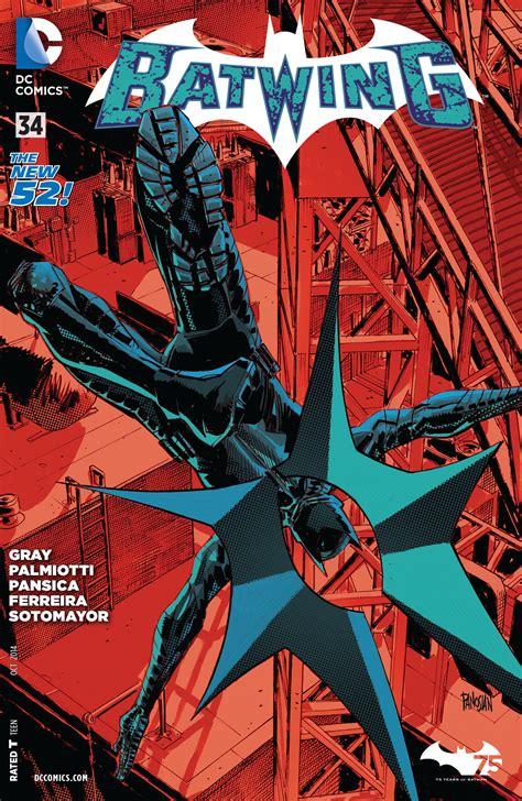 S Batwing review batwing 34 dc comics news