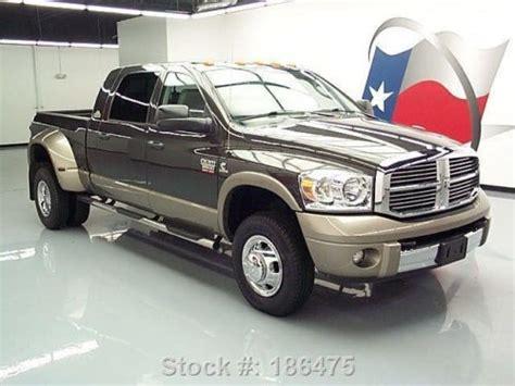 2008 dodge 3500 dually for sale find used 2008 dodge ram 3500 resistol mega 4x4 diesel