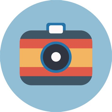 digital camera camera photography picture icon