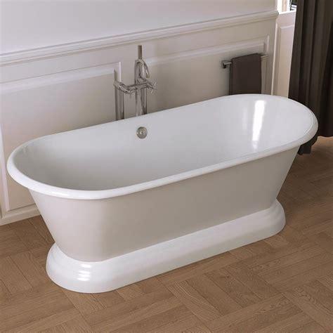 baignoire ilot en fonte 180x79 cm manchester
