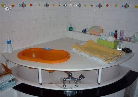 table a langer pour baignoire d angle recherche