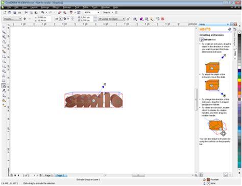 membuat gambar 3d corel draw ilmu pengetahuan membuat gambar 3d dengan perpaduan