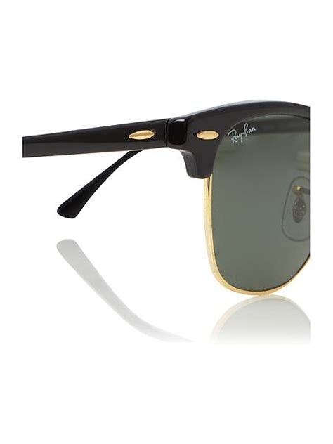 Rayban Clubmaster Unisex Sunglasses Rb3016 ban unisex rb3016 arista clubmaster sunglasses