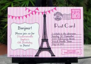 birthday party in paris invitations amp printable collection