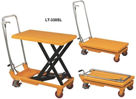 scissor lift work table scissor lift tables operated
