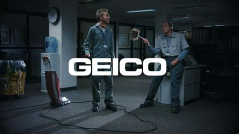 geico commercial actress million bucks geico tv spot cleaning crew unskippable ispot tv