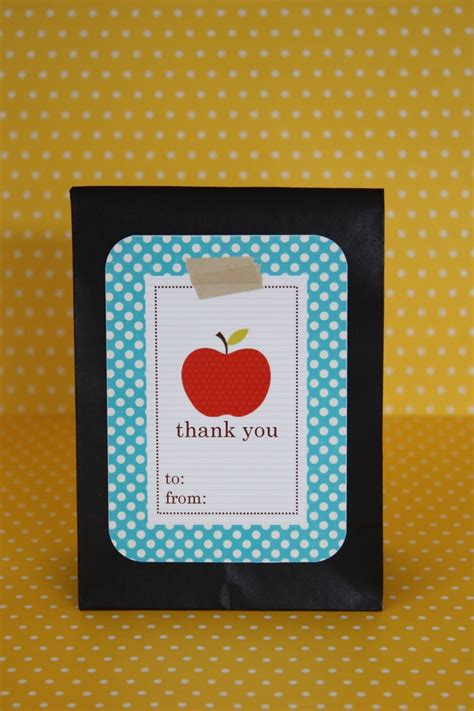 printable apple gift cards 9 best teacher appreciation week images on pinterest