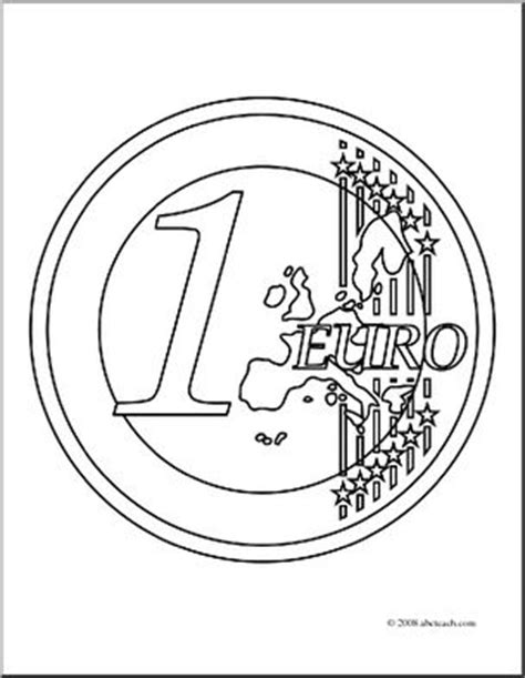 coloring pages euro clip art euro coloring page abcteach