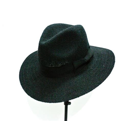 handmade esay to portable wide brim fedora hat cheap hats