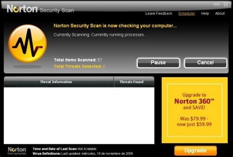security scan norton security scan