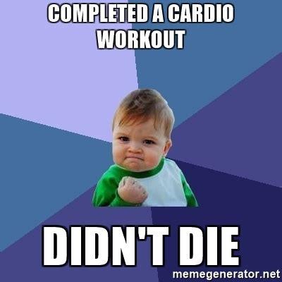 Cardio Meme