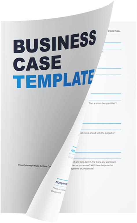 simple business case template 183 vocus communications