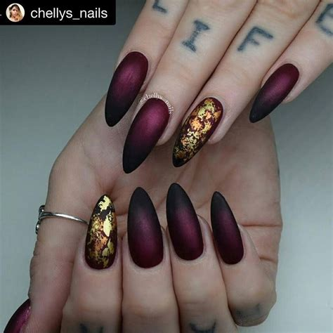 the 25 best burgundy nail designs ideas on