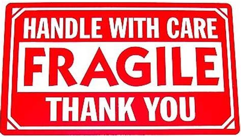 shipping label fragile handle with care 250 1x3 fragile handle with care shipping labels and