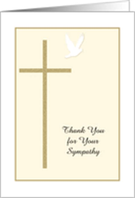 thank you letter after cross buy sympathy thank you cards from greeting card
