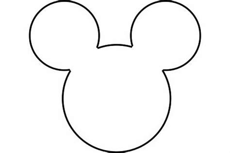 minnie mouse head template new calendar template site