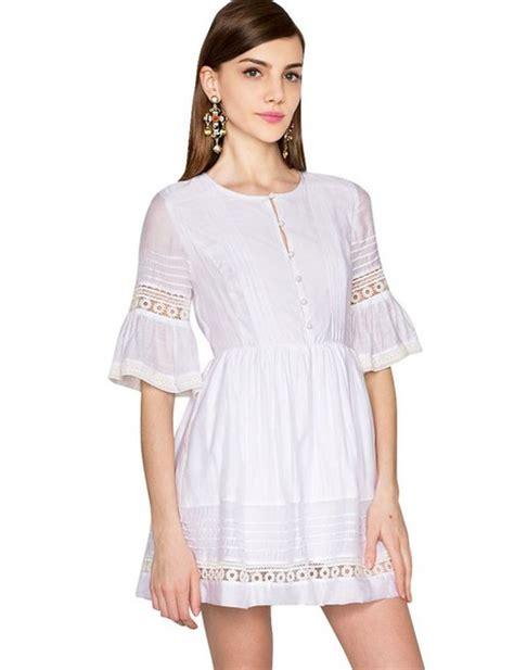 Gp Bellsleeve Dress Series 2 dress pixie market pixiemarket dress white white dress lace dress lace eyelet