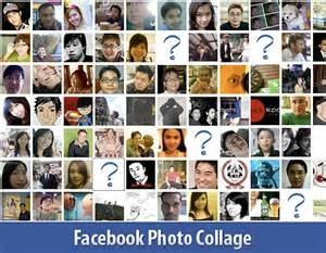 How to create a photo collage using pictures of your facebook friends