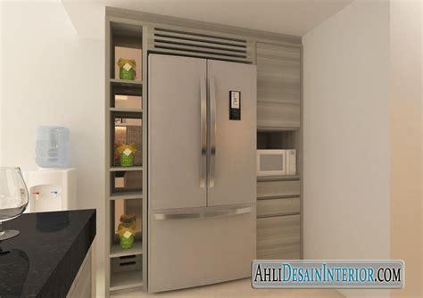 Kulkas Box Kecil desain interior dapur minimalis sederhana nan kecil