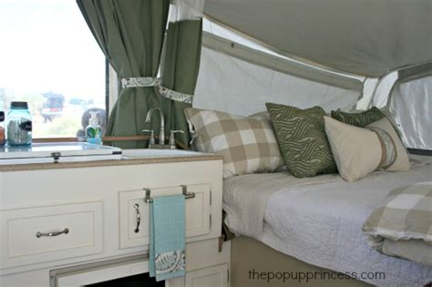 Redecorating Bedroom Pop Up Camper Remodel The Big Reveal The Pop Up Princess