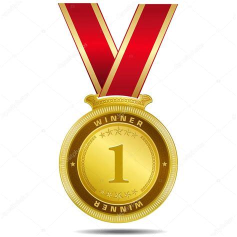 gold medal pattern winner gold medal vector design stock vector