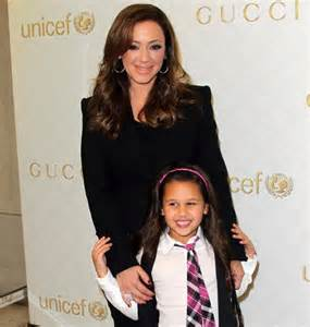 Leah remini left and daughter sofia bella pagan now 9 years old