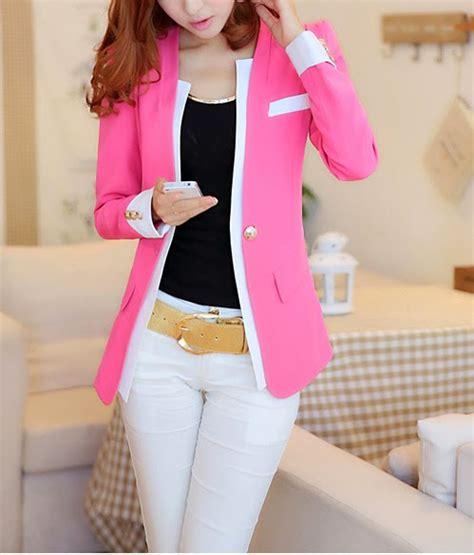 moda coreana 30 modelos de blazers para mujeres mundo moda coreana 30 modelos de blazers para mujeres mundo