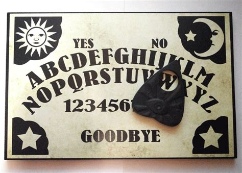 printable a4 ouija board a4 wooden sun moon stars ouija board planchette