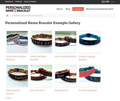 Introducing the All New PersonalizedNameBracelet.com