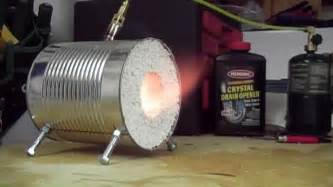 Diy Small Propane Forge How To Make A Coffee Can Forge Doovi