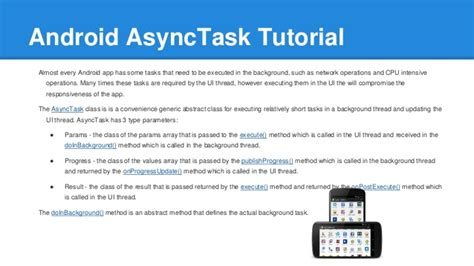 asynctask android exle android asynctask tutorial