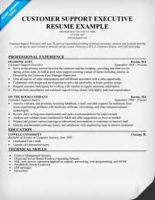 Customer Technical Support Sle Resume by Customer Support Template Images