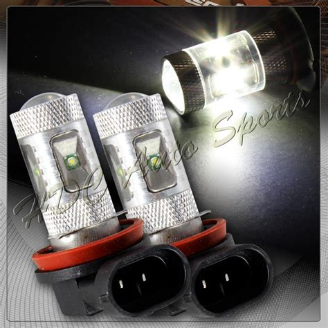 Toyota Led Osram L Low Beam Nbr H11 purchase 2x nissan scion toyota h11 white 6 led 30w projector low beam fog light bulbs