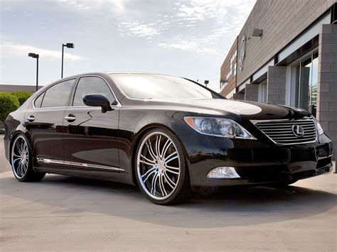 lexus ls custom 22 lexus ls 460 breden forged co3 staggered custom w breden