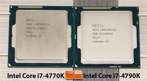 intel i7 4770k sockel intel i7 4790k s processor review