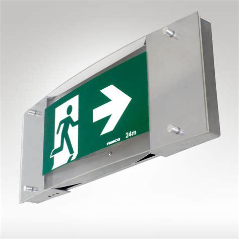 Lu Emergency Exit Led premium led exit famco